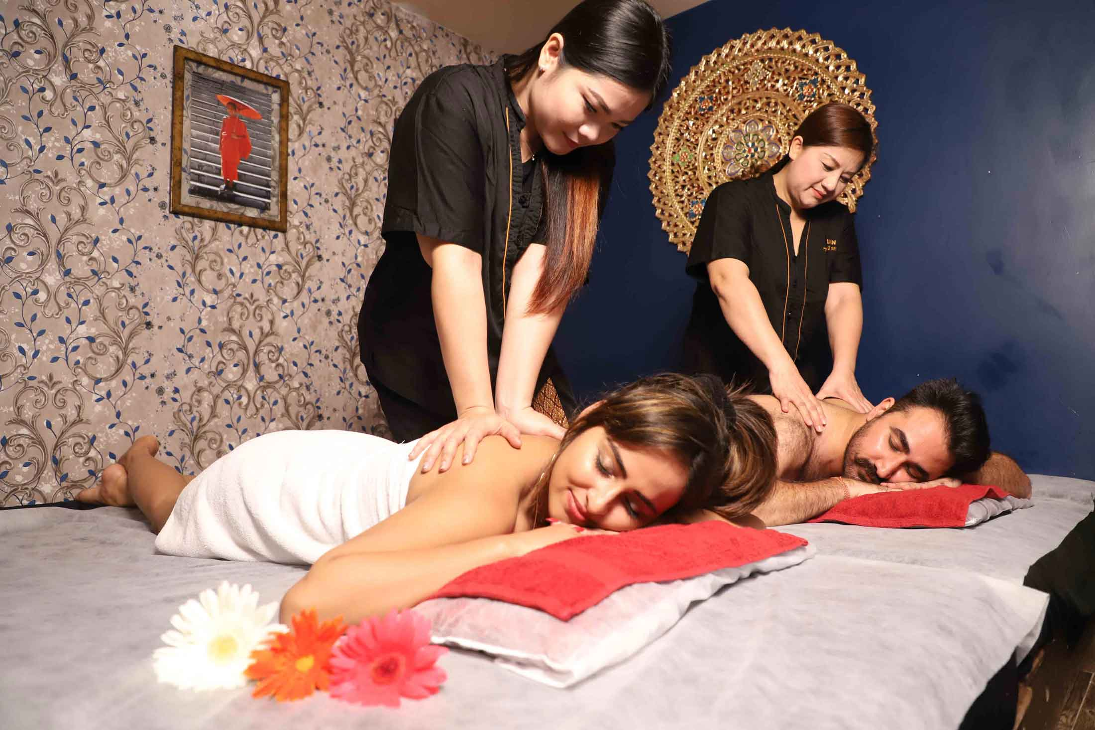 Couple Massage Yuan thai spa Mumbai